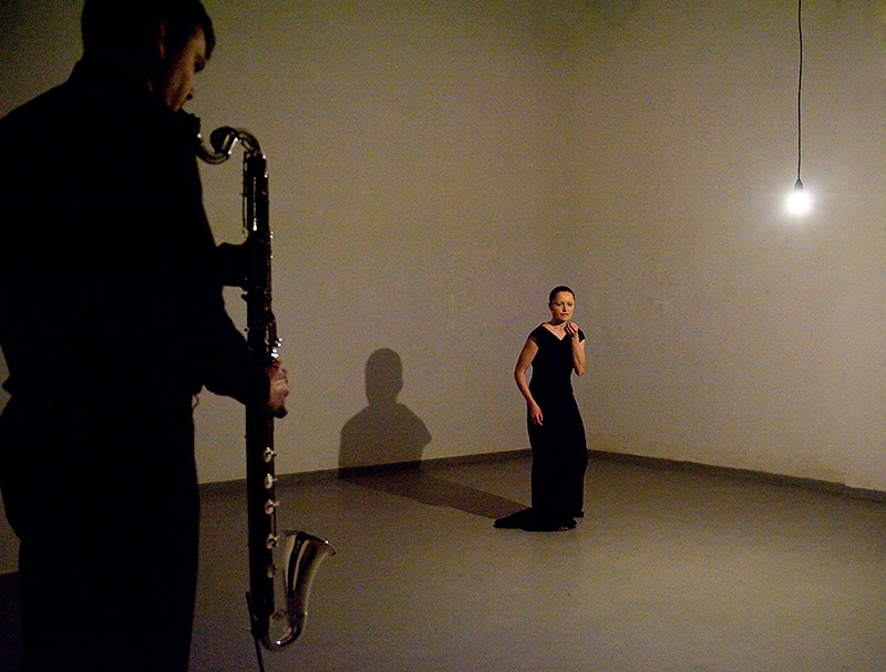 SMUGI - Improwizacja na ciało butoh i klarnet